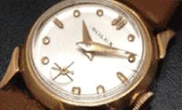 50年前の動かない時計例