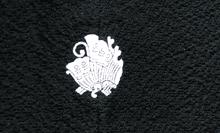 紋付きの着物