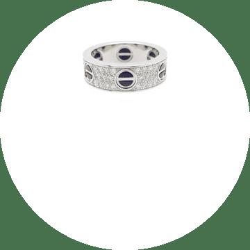 ラブリング パヴェダイヤ セラミック B4207600