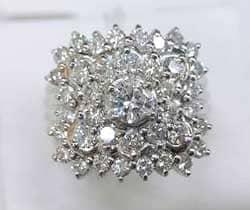 メレダイヤモンドデザインリング