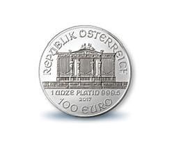 ウィーンハーモニープラチナ貨