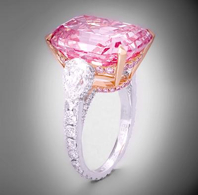 Graff Pink (グラフピンク・ダイヤモンド)Diamond 24.78ct