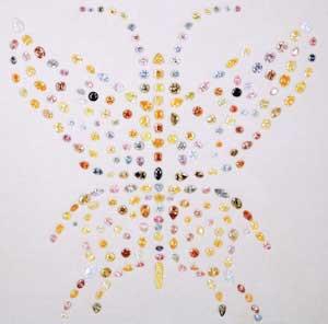 Aurora Butterfly Of Peace(オーロラバタフライオブピース・ダイヤモンド)167.0ct